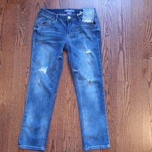 Democracy NWT Slim Crop Jeans Size 0